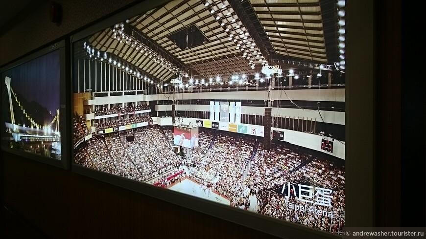 Taipei Arena внутри.