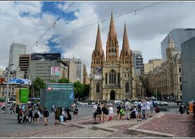 Мельбурн — город трамваев и небоскрёбов