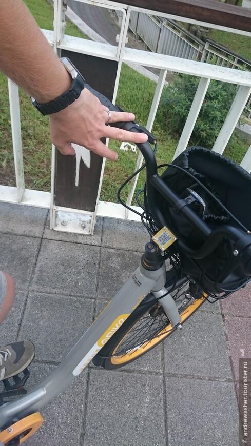 Мы всегда поддерживаем спорт. У нас в Тайбэе появилась новая велосистема O-Bike. Бери где хочешь - ставь где хочешь.