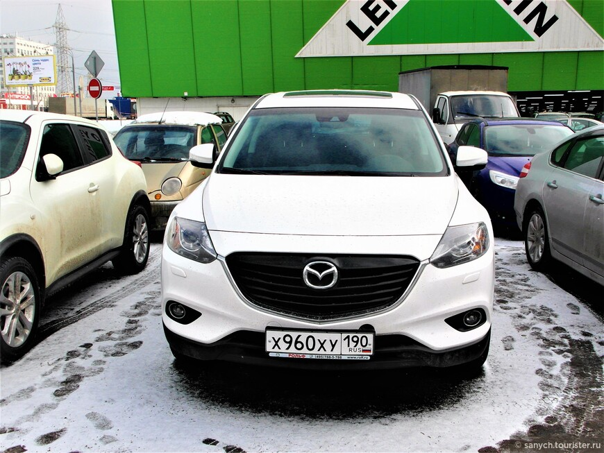 Рядом стоит новая красавица - Mazda СХ-9.