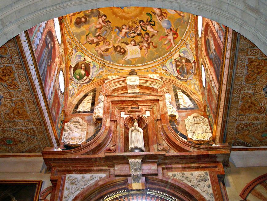 Часовня Девы Марии Зачатия. Купол.