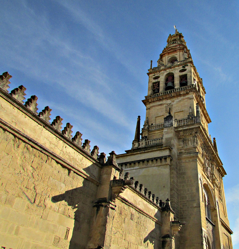 Торре-дель-Альмина - колокольня Кафедрального собора.