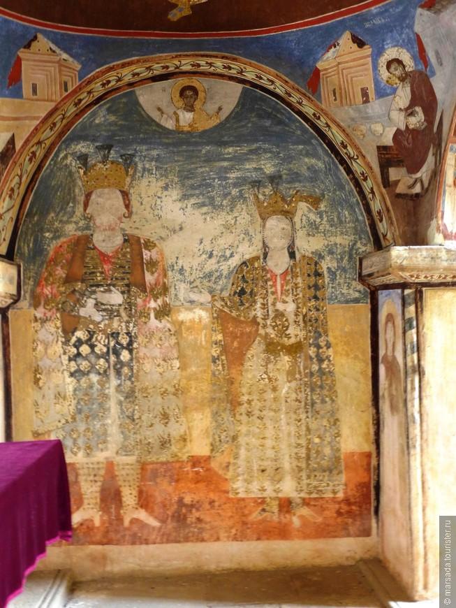 Имеретинский царь Александр с супругой