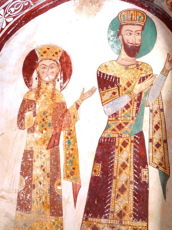 Росписи из южного придела собора