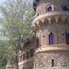 Янов град, который был построен в виде руины.
