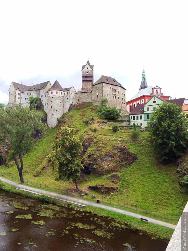 Прощальный взгляд на крепость.  Осталось приятное впечатление от посещения замка.