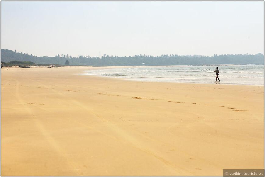 Парадайз-бич - совершенно пустынный пляж на территории штата Махараштра. Полчаса от дома - и ты как на необитаемом острове.