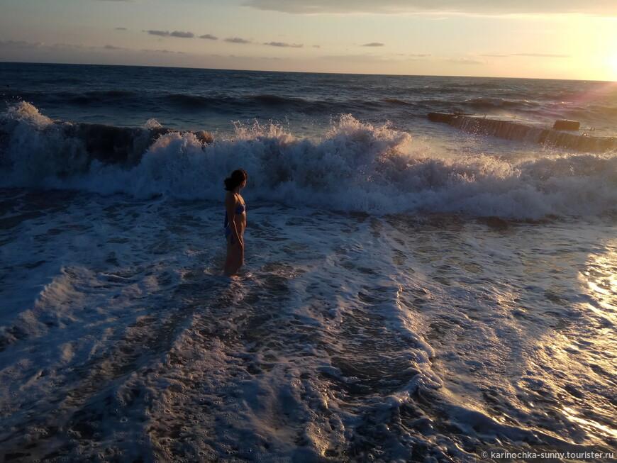 Загадочное и манящее море....