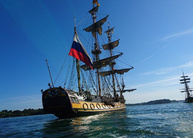 Начинаю серию постов о морском переходе на паруснике через Атлантику.