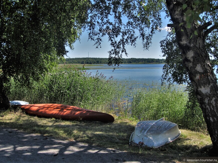 Озеро Кроппщершен в черте города. В 10 минутах ходьбы от моего дома.