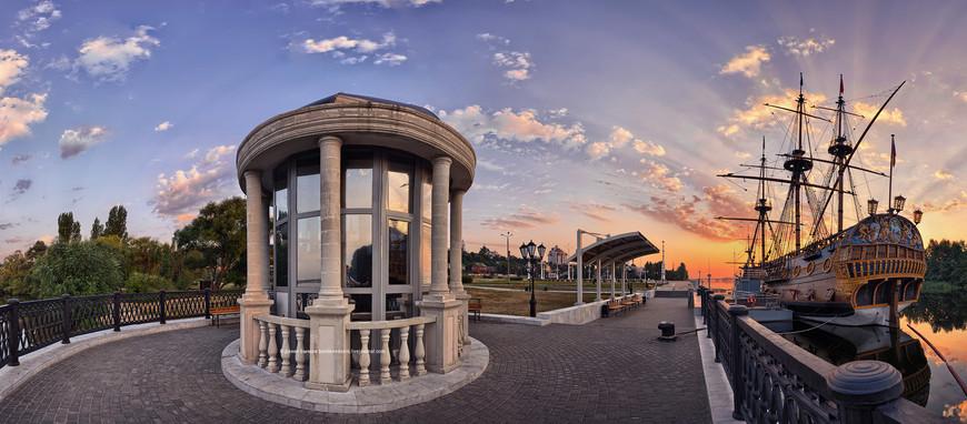 Вид на Адмиралтейскую площадь