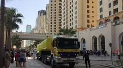 Пожар произошел в отеле Movenpick в Дубае