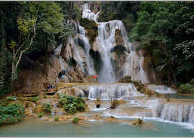 Королевский Луанг и водопад Куанг Си