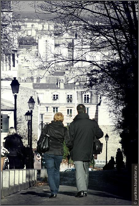 Осенний Париж - отличное место для неспешных прогулок