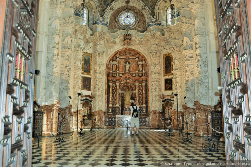 Церковь Сан Бруно. Картуха. Гранада.