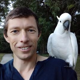 Турист Сергей Яшумов и гиды в Австралии (auturgid)