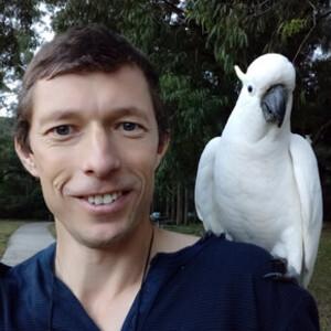 Сергей Яшумов и гиды в Австралии