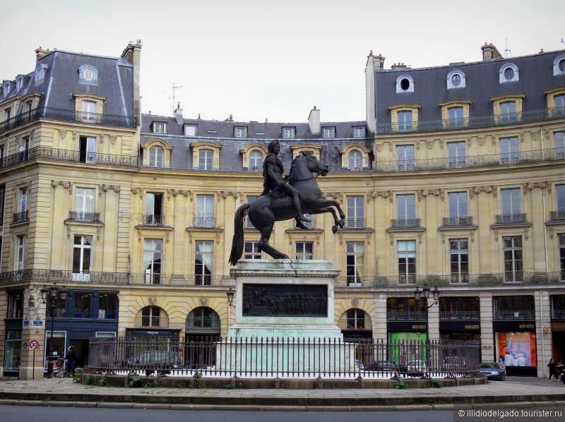 Place des Victoires  - Париж, Франция