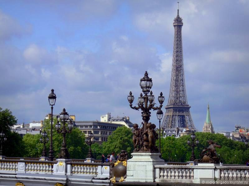 Pont Alexandre III - Париж, Франция