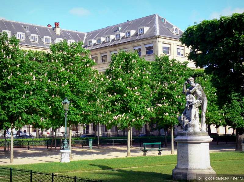 Jardin Henri IV  - Париж, Франция
