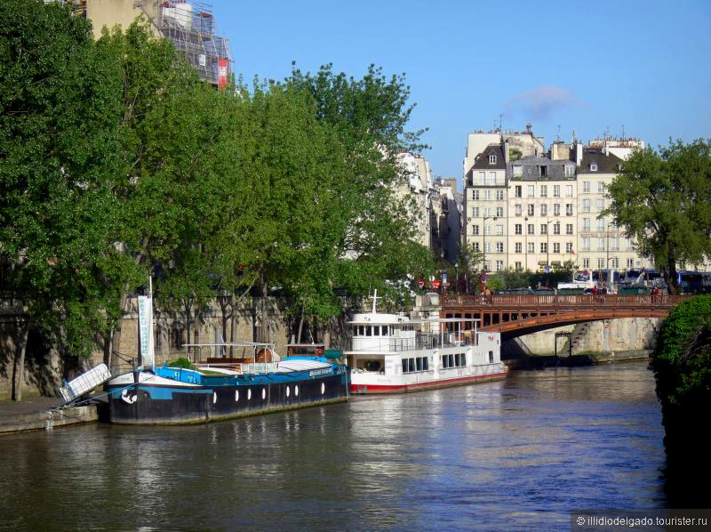 Quai de Seine  - Париж, Франция