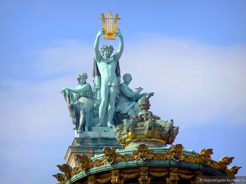 Opéra Garnier - Париж, Франция