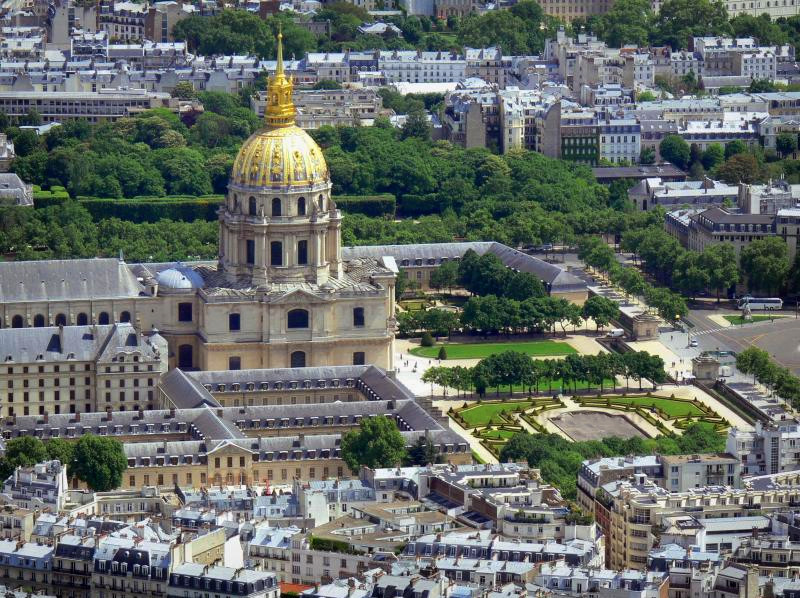 Les Invalides - Париж, Франция