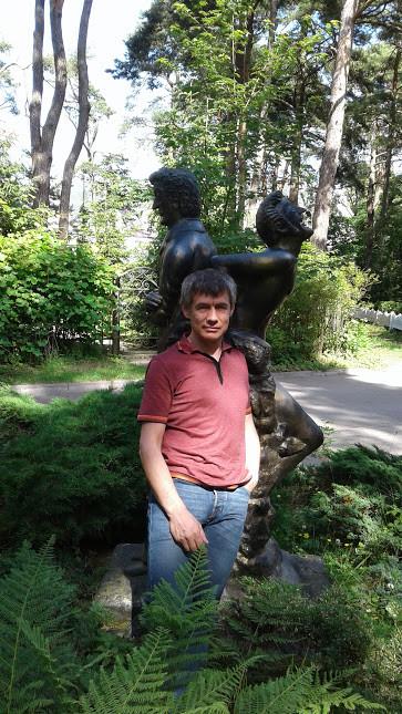 С Гофманом в Светлогорске