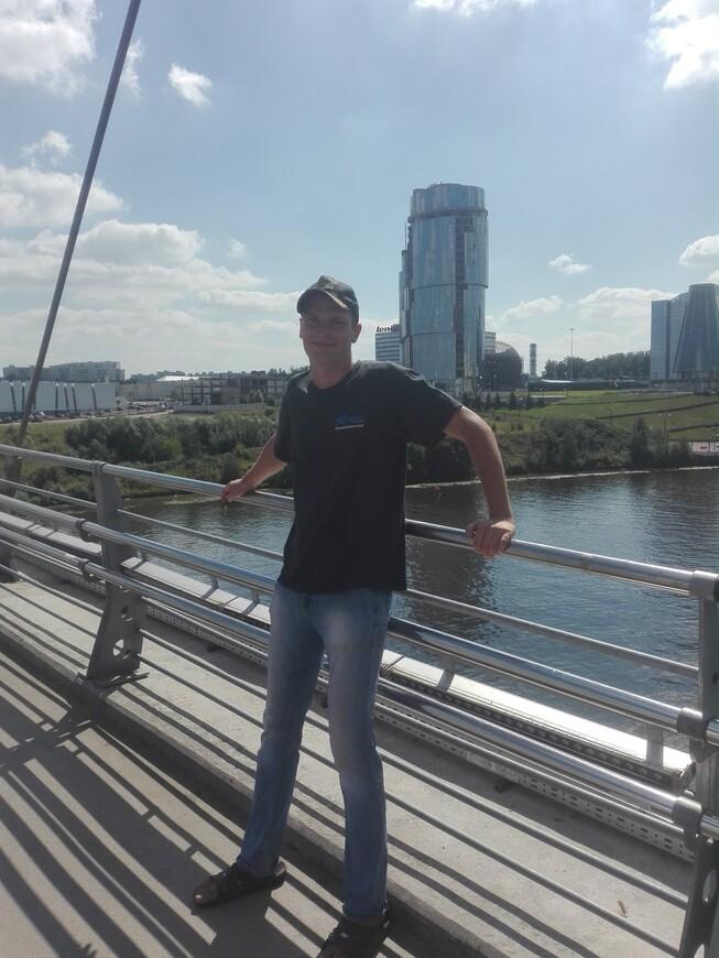 Павшинский мост - вид на Москву-реку