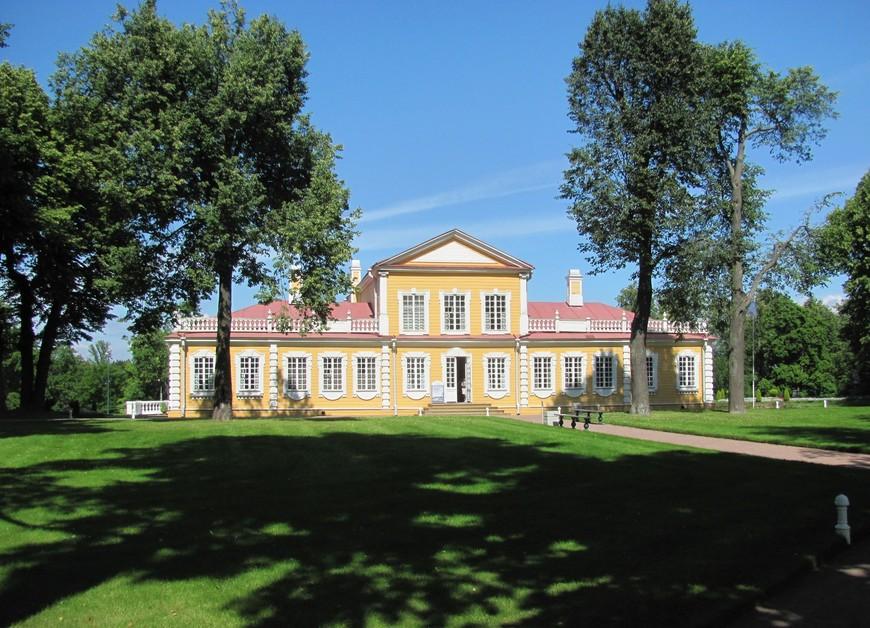 1. Путевой дворец Петра I в Стрельне