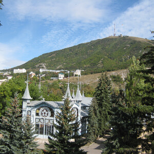 Красавец Пятигорск, начало прогулки