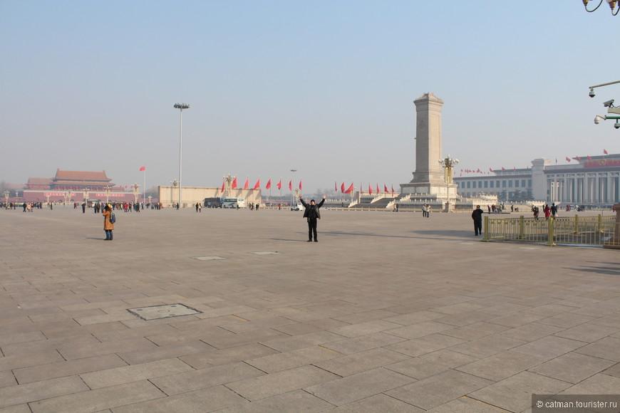 Площадь Тяньаньмэн самая большая в мире площадь