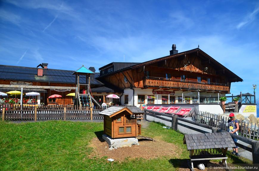 Мы специально выбрали трек Gernkogel, он ведёт на гору Geisterberg- гора духов. Как было написано в рекламном проспекте -гора Духов- это приключение для всей семьи.