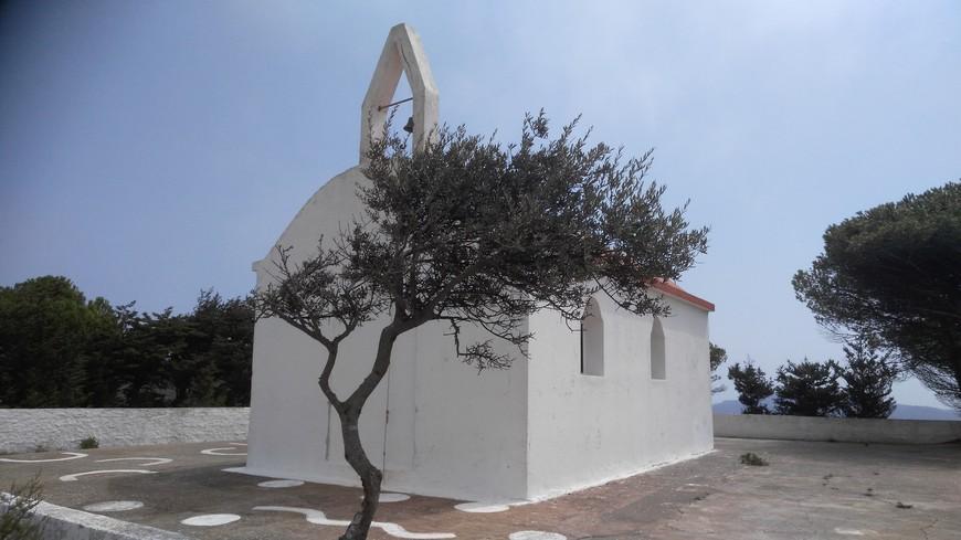 церквушка в горах Родоса, наткнулись на нее случайно