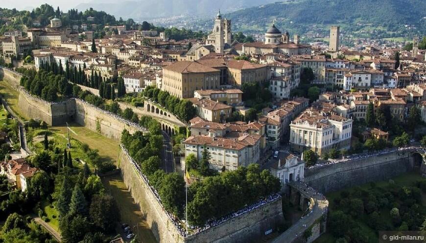 Стены Бергамо признаны Всемирным Наследием ЮНЕСКО