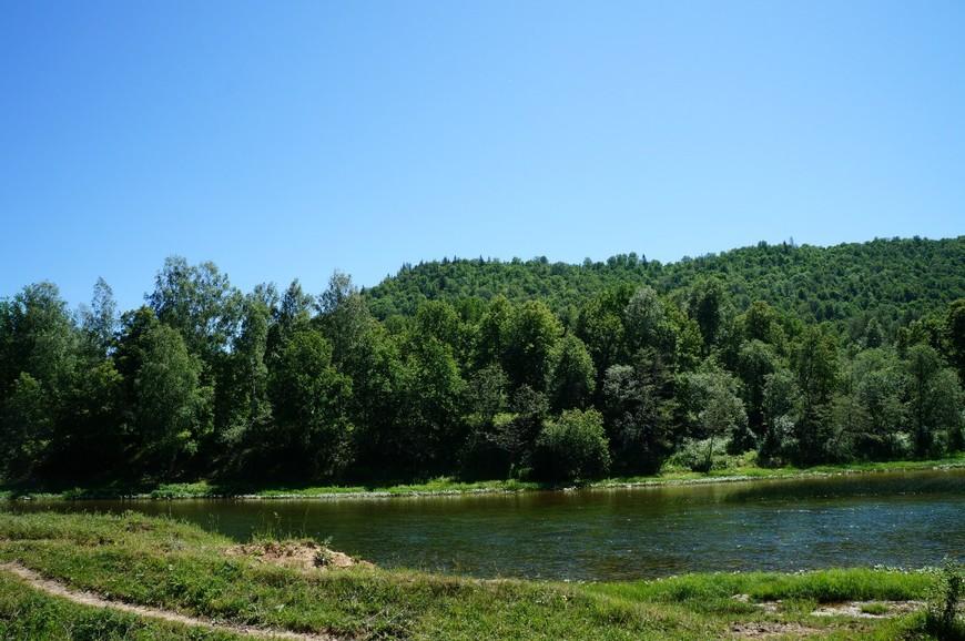 Река Зилим. Гафурийский район Республики Башкортостан.