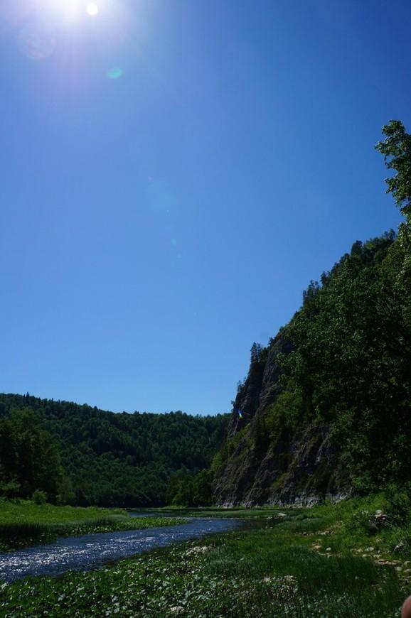 Река Зилим. Гафурийский район Республики Башкортостан