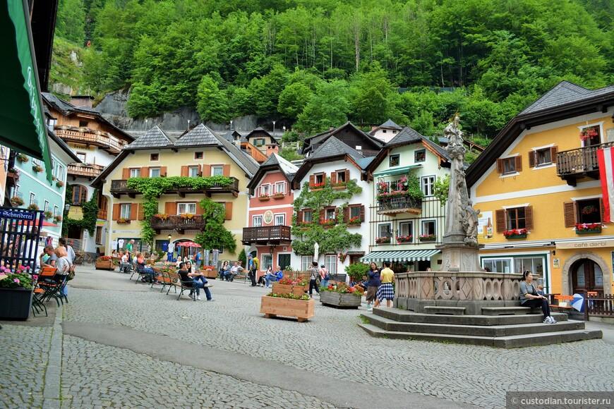 Рыночная площадь - главная площадь города.