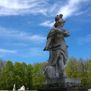 Нимфенбург, парк вокруг Замка нимф в Мюнхене