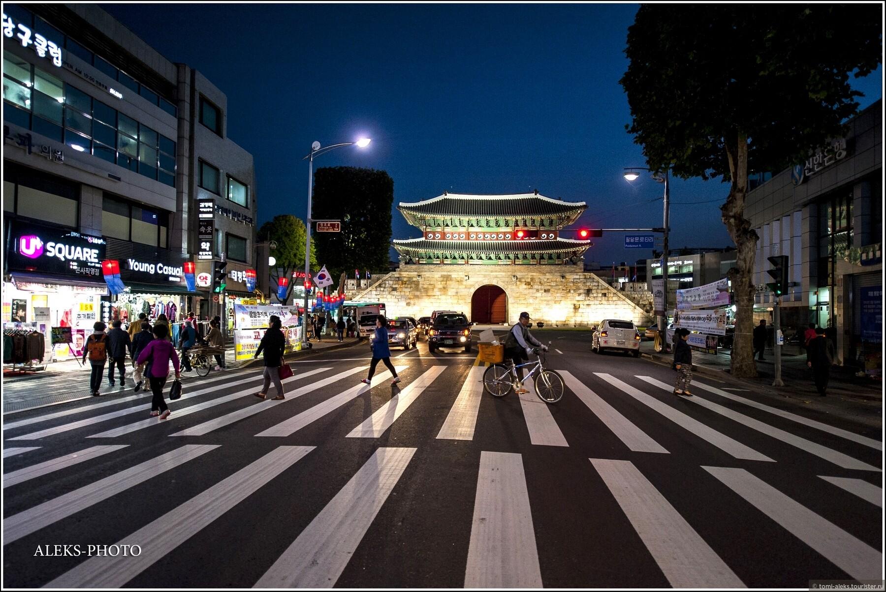 фото улиц сувона южная корея супер-крутые