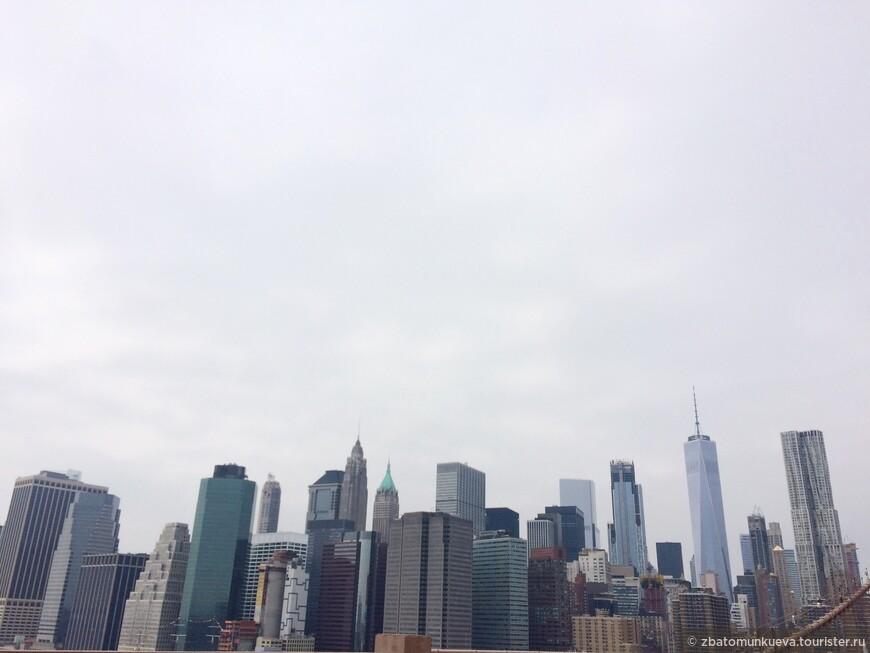 Вид из Бруклинского моста