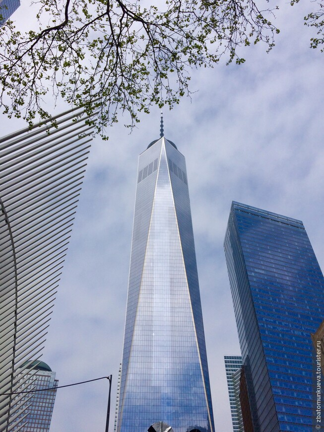 Всемирный торговый центр или Башня Свободы, который и стал не только самым высоким зданием Нью-Йорка, но и всего Западного полушария.