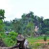 Священная скала в крайне отдаленном селе