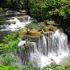 4-ый огромнейший уровень одного из самых красивых водопадов Таиланда