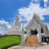 Соседний Белый храм и Богиня среди гор. Тут всё прекрасно! Чианг Рай