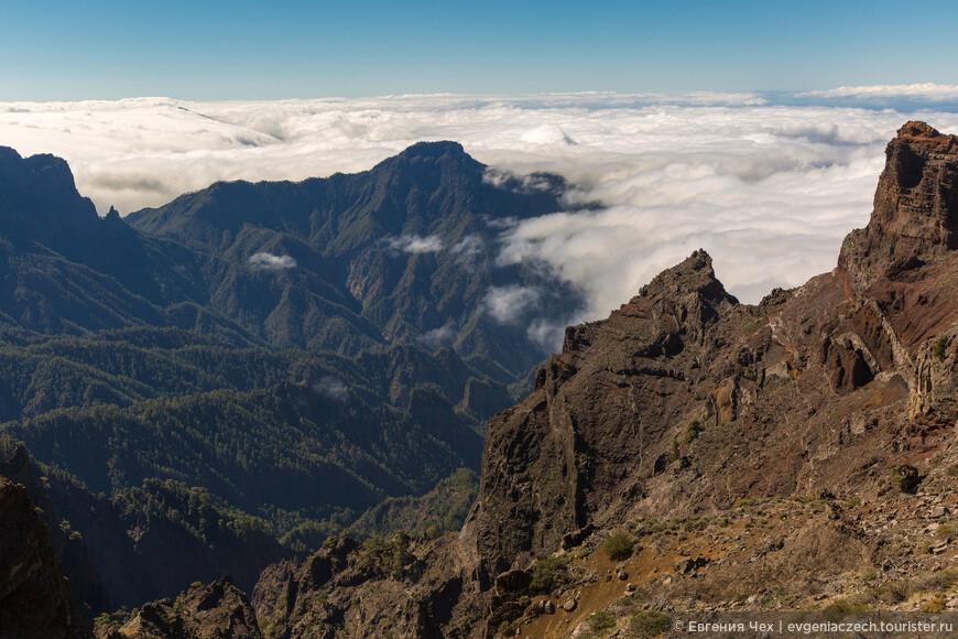 Смотровая площадка Mirador de los Anderes, 2297 м. над уровнем моря.