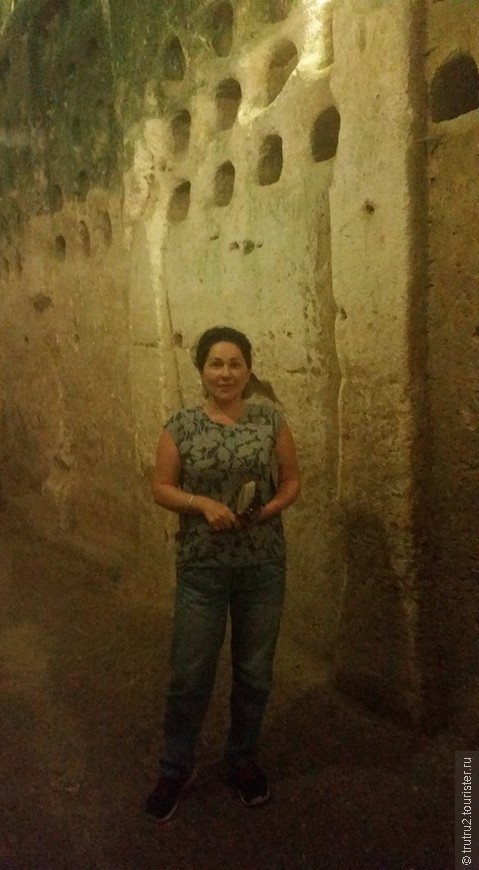 Колумбарии археологического парка Мариша - Бейт Гуврин.