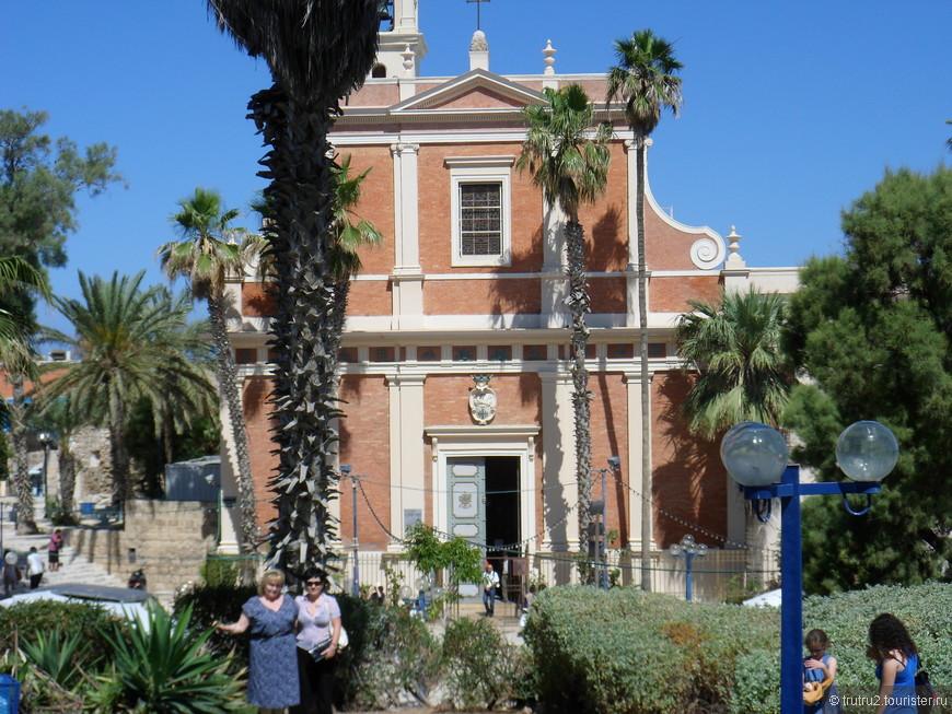 Церковь св. Пертра в Яффо.