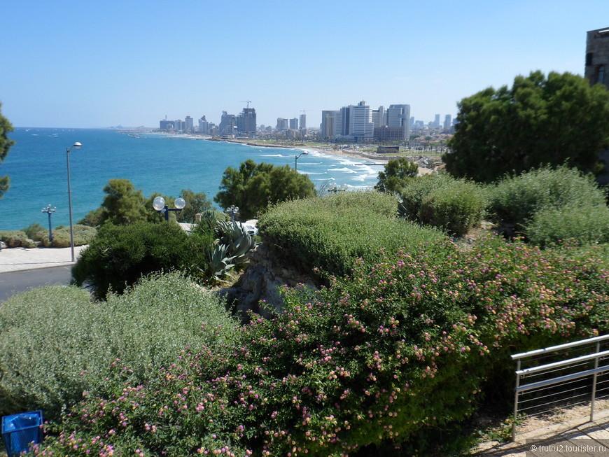 Яффо. Вид на Тель Авив.