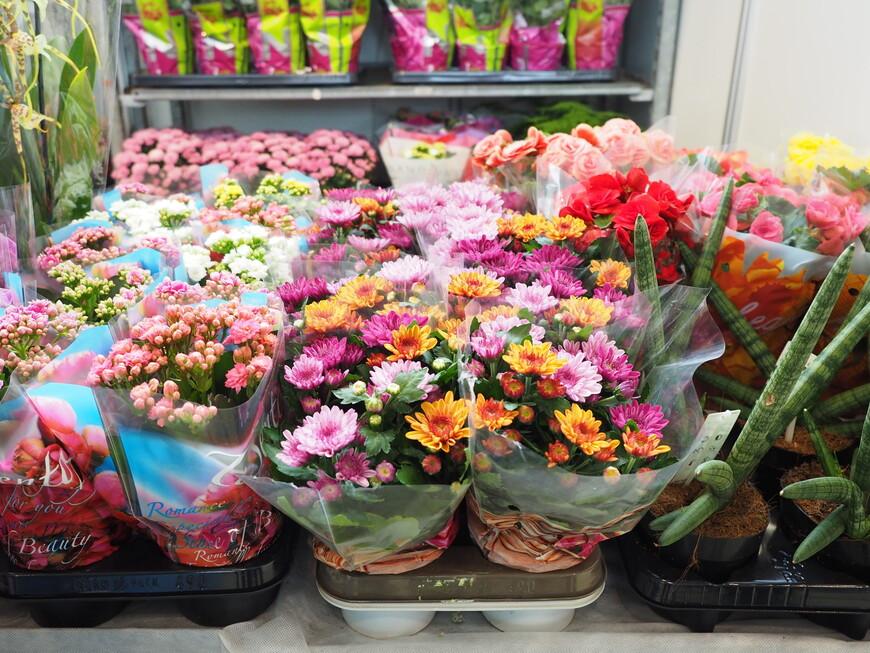 А это российские цветы
